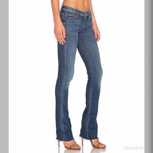 NWT Mother The Runway Fray in Girl Crush Jeans M08
